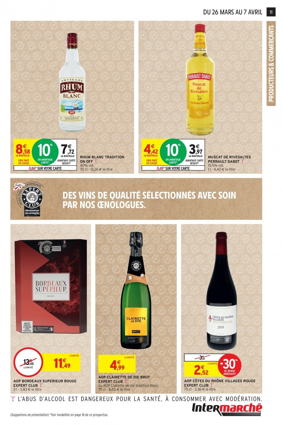 Catalogue Intermarché - 26.03.2019 - 07.04.2019. Page 11.