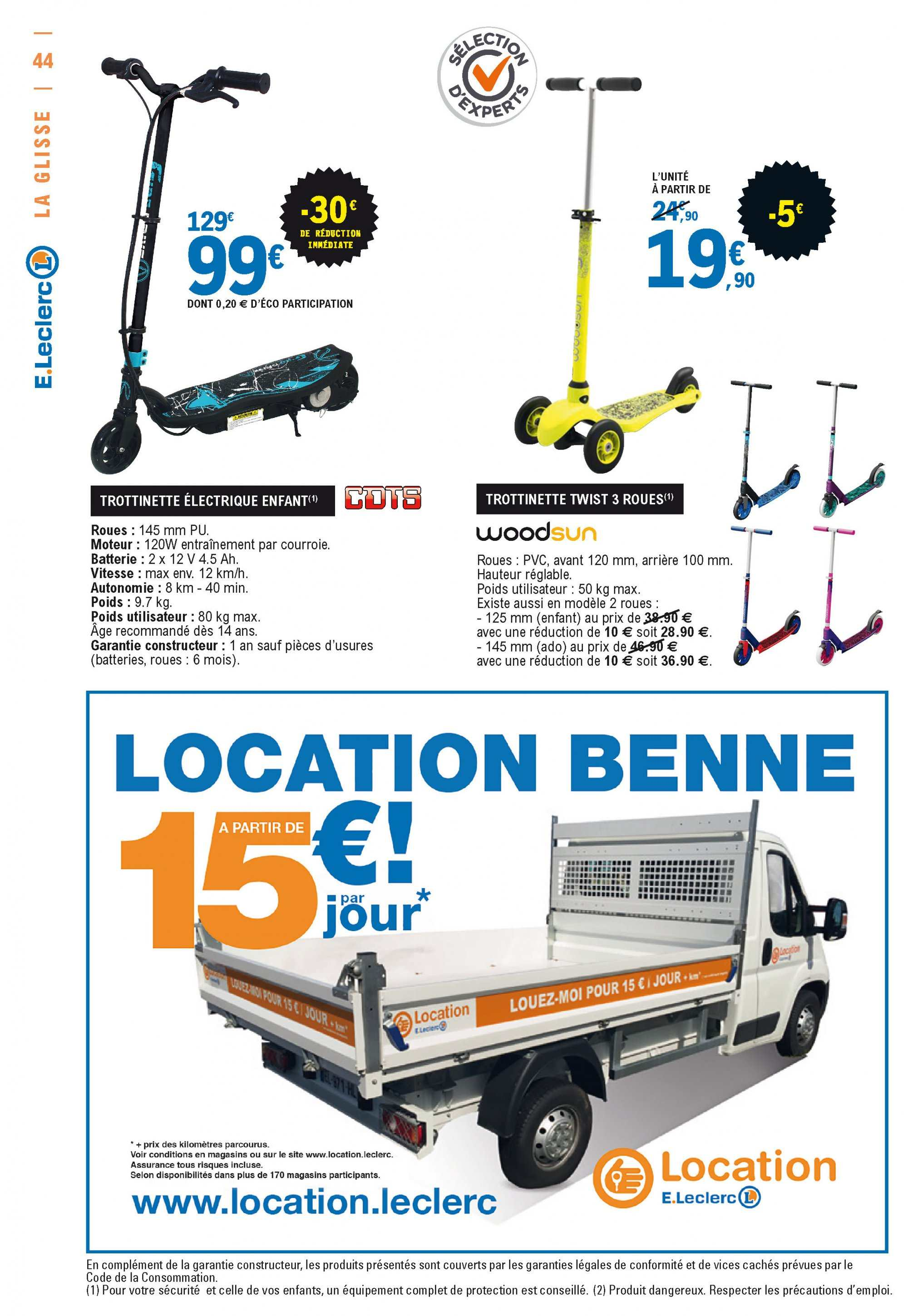 Catalogue E.Leclerc - 26.03.2019 - 06.04.2019. Page 44.