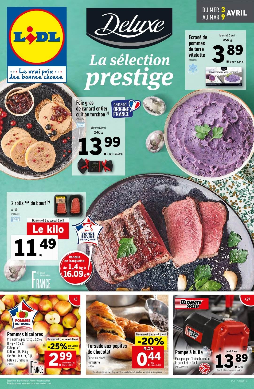 Catalogue Lidl - 03.04.2019 - 09.04.2019. Page 1.