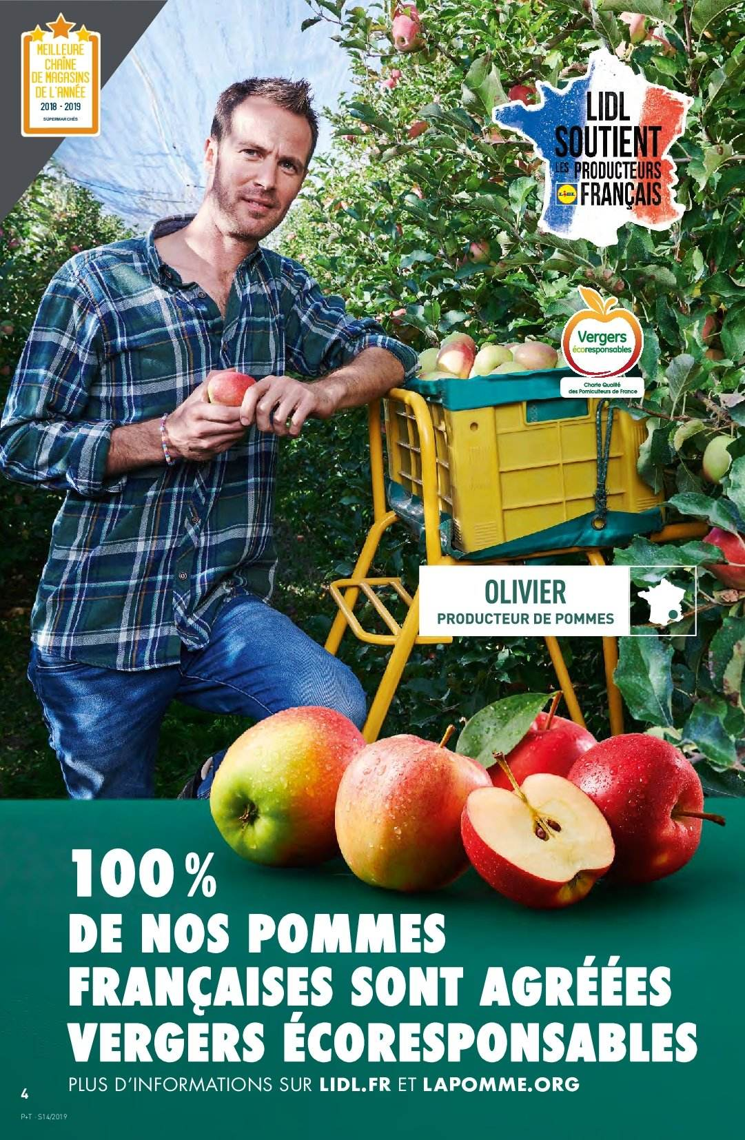 Catalogue Lidl - 03.04.2019 - 09.04.2019. Page 4.