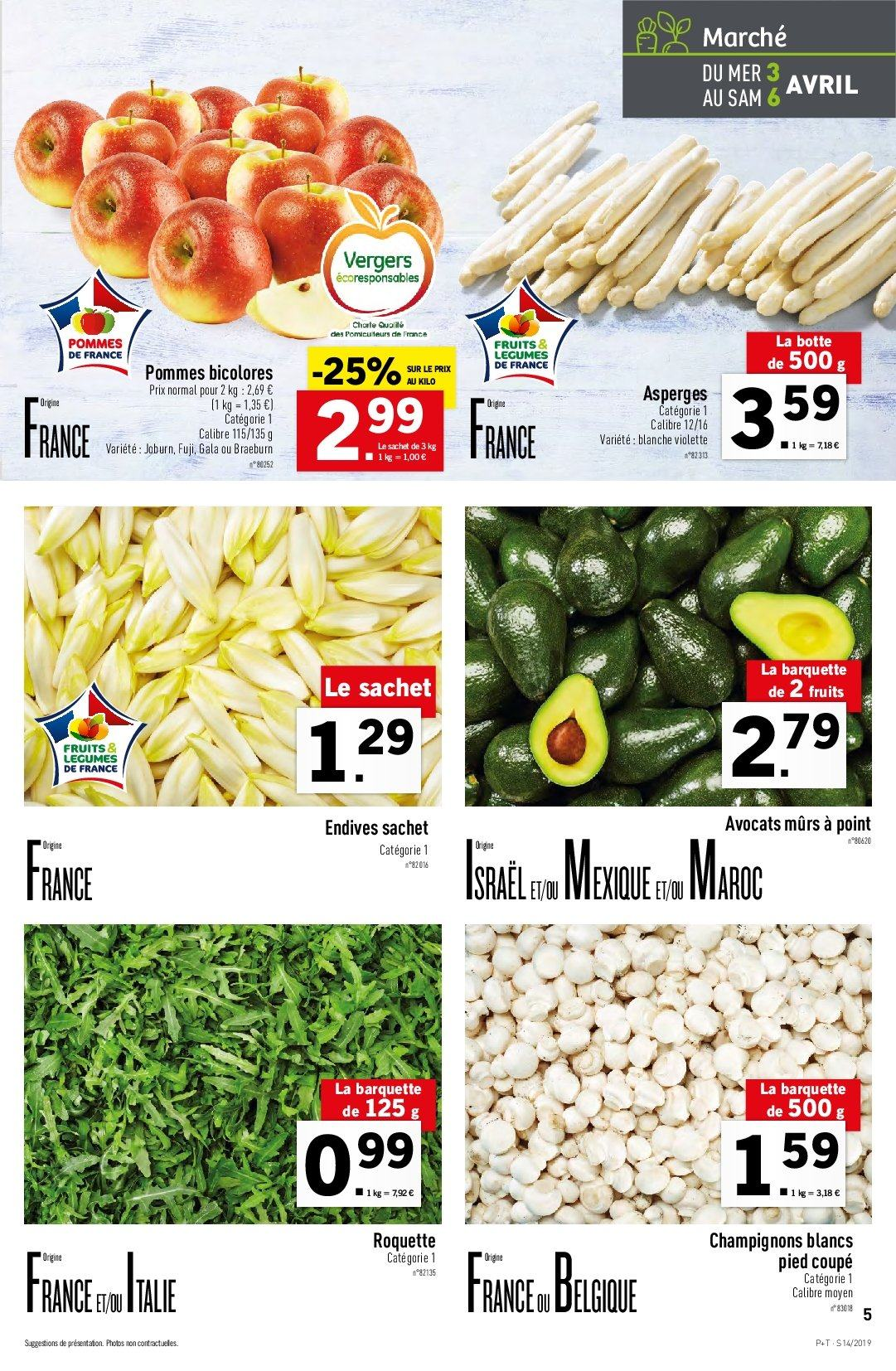 Catalogue Lidl - 03.04.2019 - 09.04.2019. Page 5.