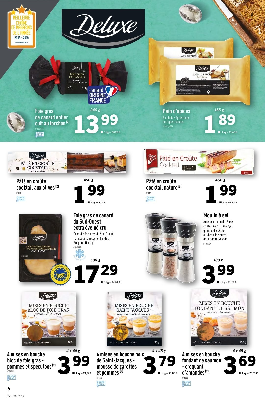 Catalogue Lidl - 03.04.2019 - 09.04.2019. Page 6.