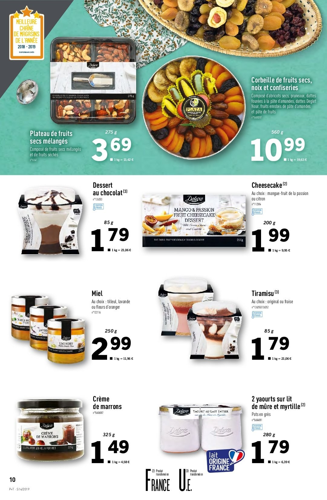 Catalogue Lidl - 03.04.2019 - 09.04.2019. Page 10.