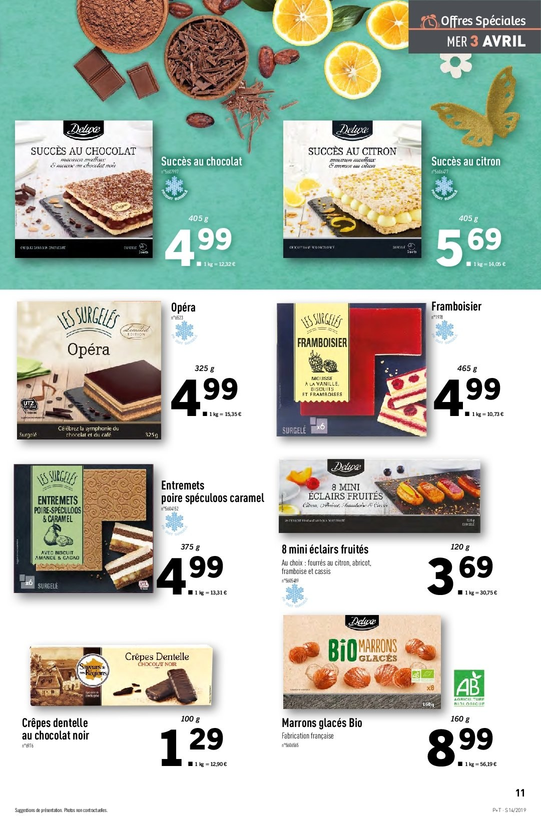 Catalogue Lidl - 03.04.2019 - 09.04.2019. Page 11.