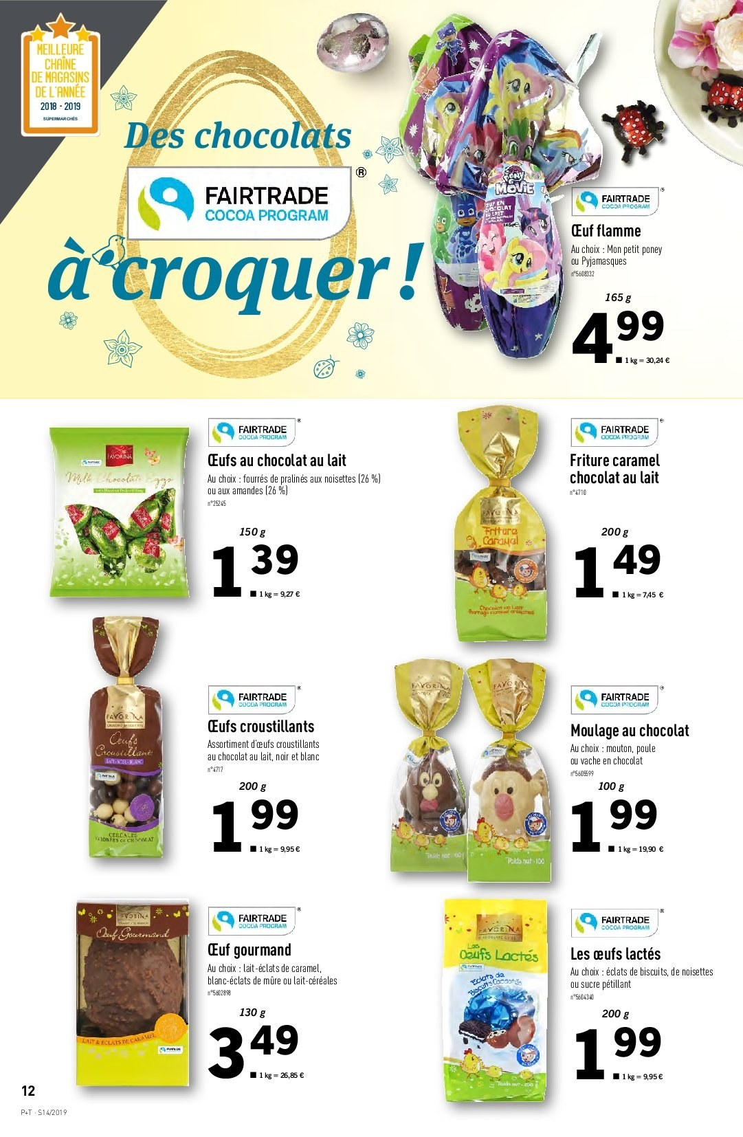 Catalogue Lidl - 03.04.2019 - 09.04.2019. Page 12.