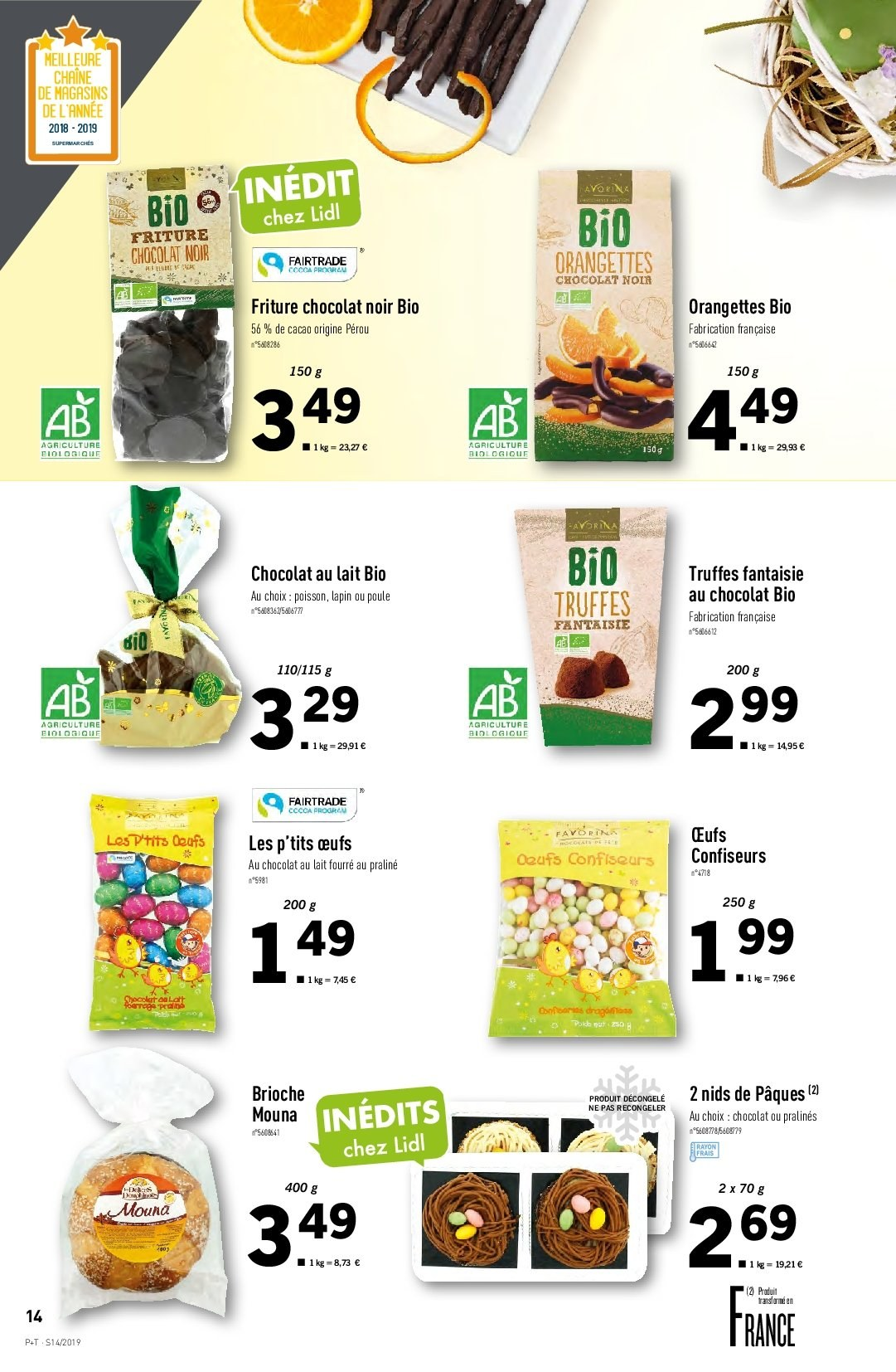 Catalogue Lidl - 03.04.2019 - 09.04.2019. Page 14.