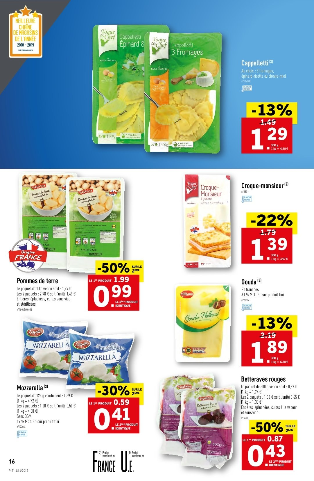 Catalogue Lidl - 03.04.2019 - 09.04.2019. Page 16.