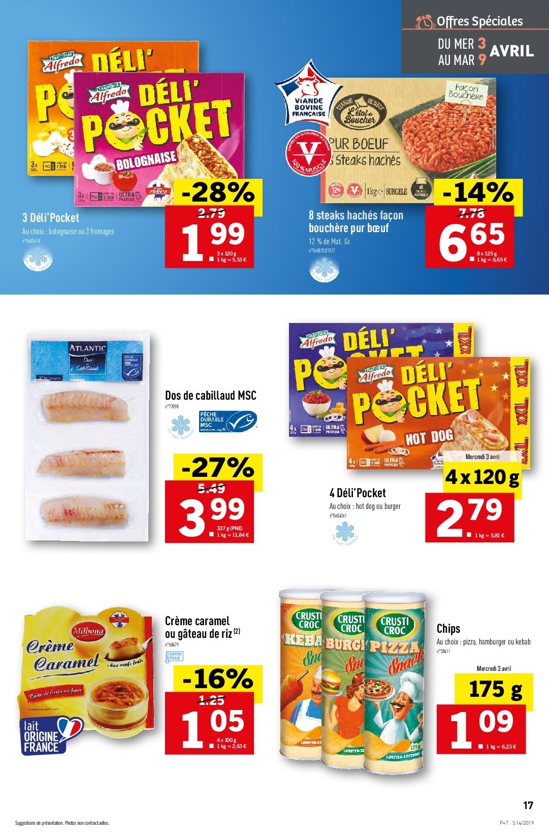 Catalogue Lidl - 03.04.2019 - 09.04.2019. Page 17.