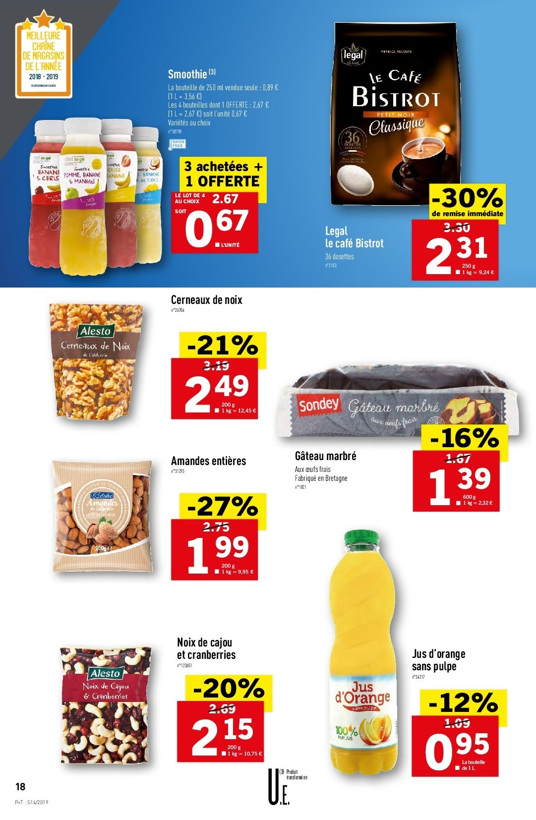 Catalogue Lidl - 03.04.2019 - 09.04.2019. Page 18.