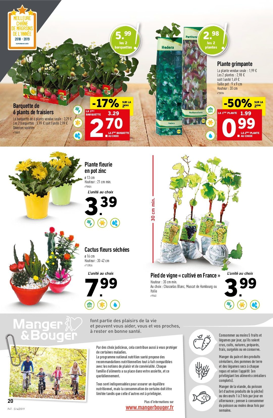 Catalogue Lidl - 03.04.2019 - 09.04.2019. Page 20.