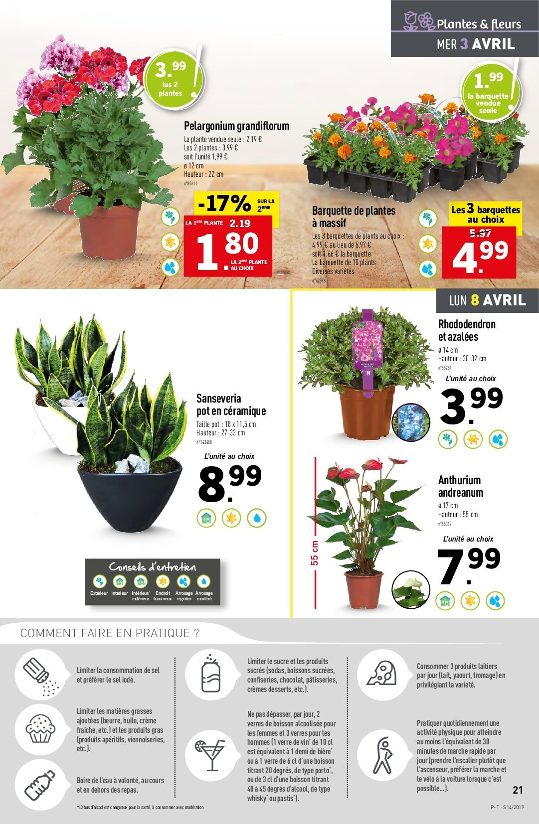 Catalogue Lidl - 03.04.2019 - 09.04.2019. Page 21.