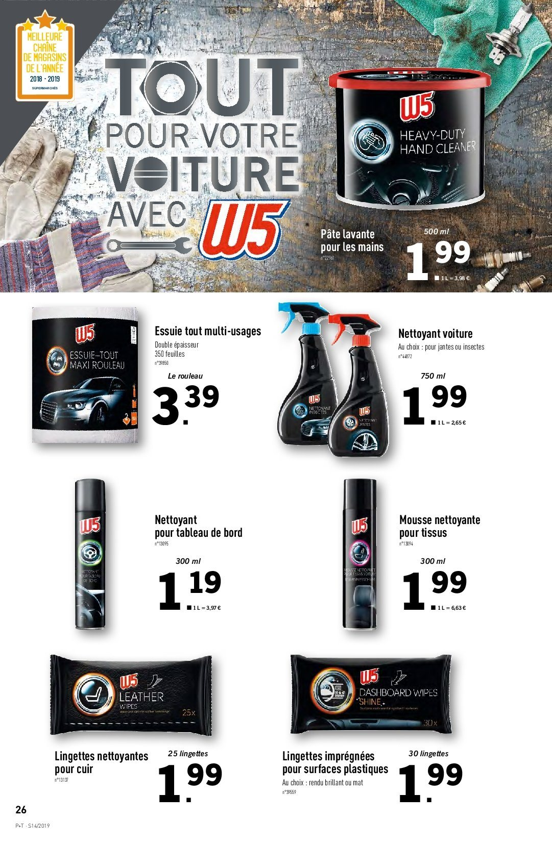 Catalogue Lidl - 03.04.2019 - 09.04.2019. Page 22.