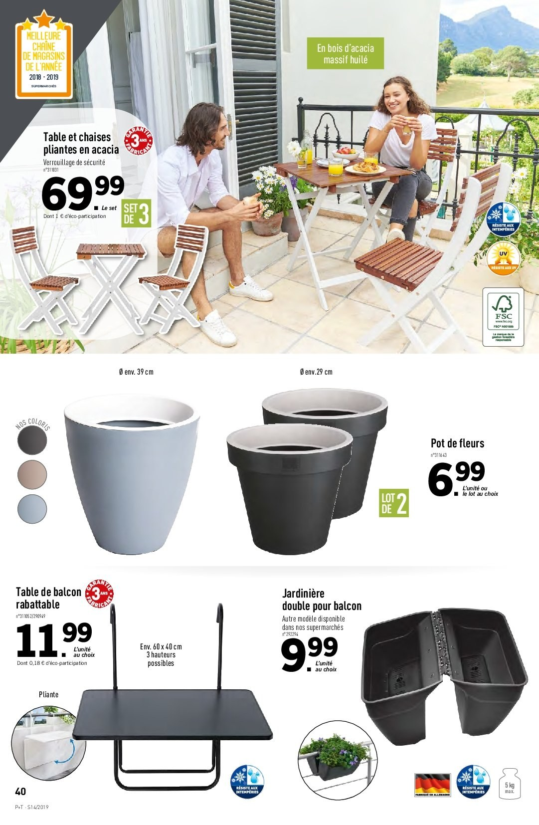 Catalogue Lidl - 03.04.2019 - 09.04.2019. Page 36.
