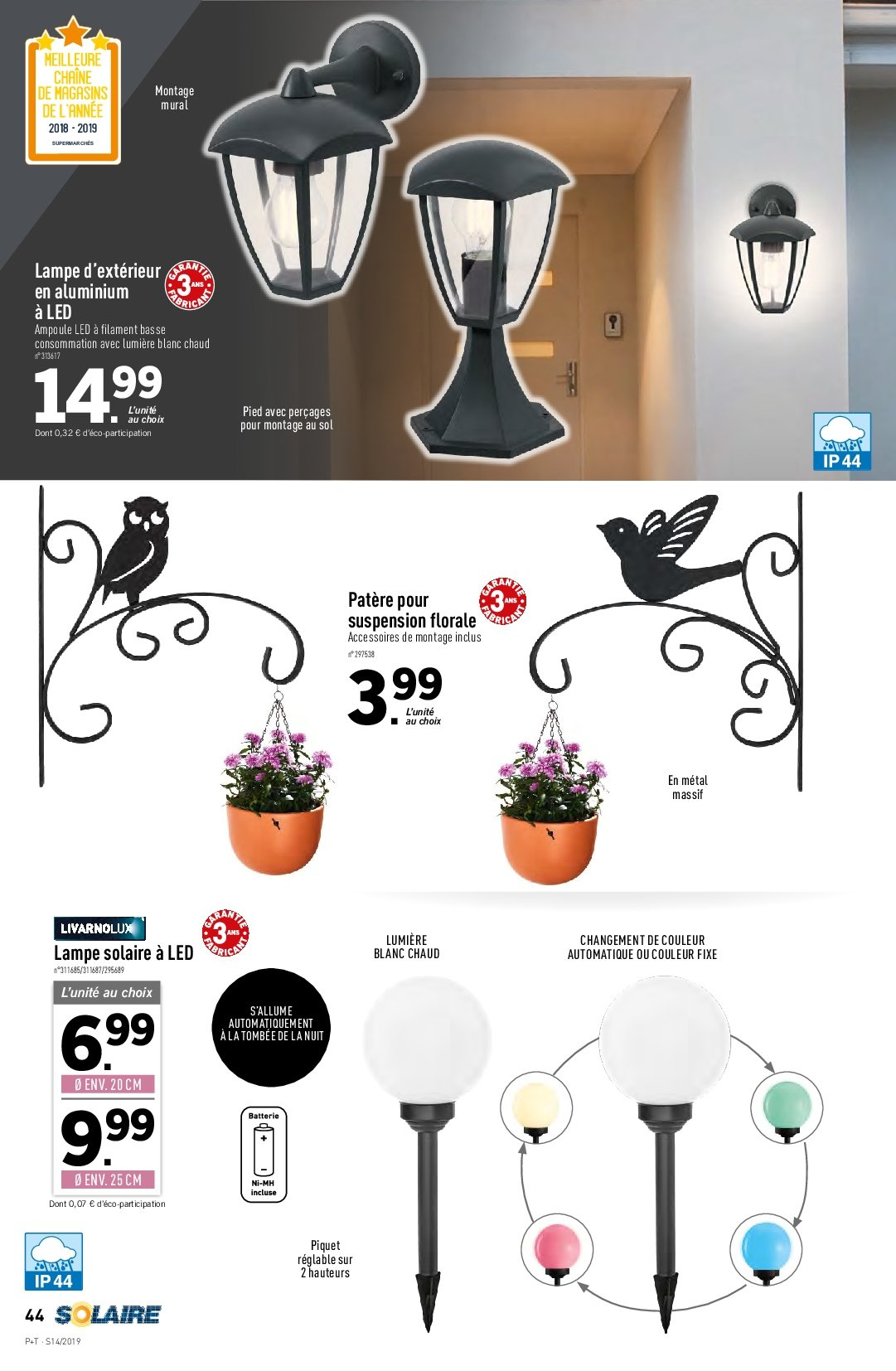 Catalogue Lidl - 03.04.2019 - 09.04.2019. Page 40.