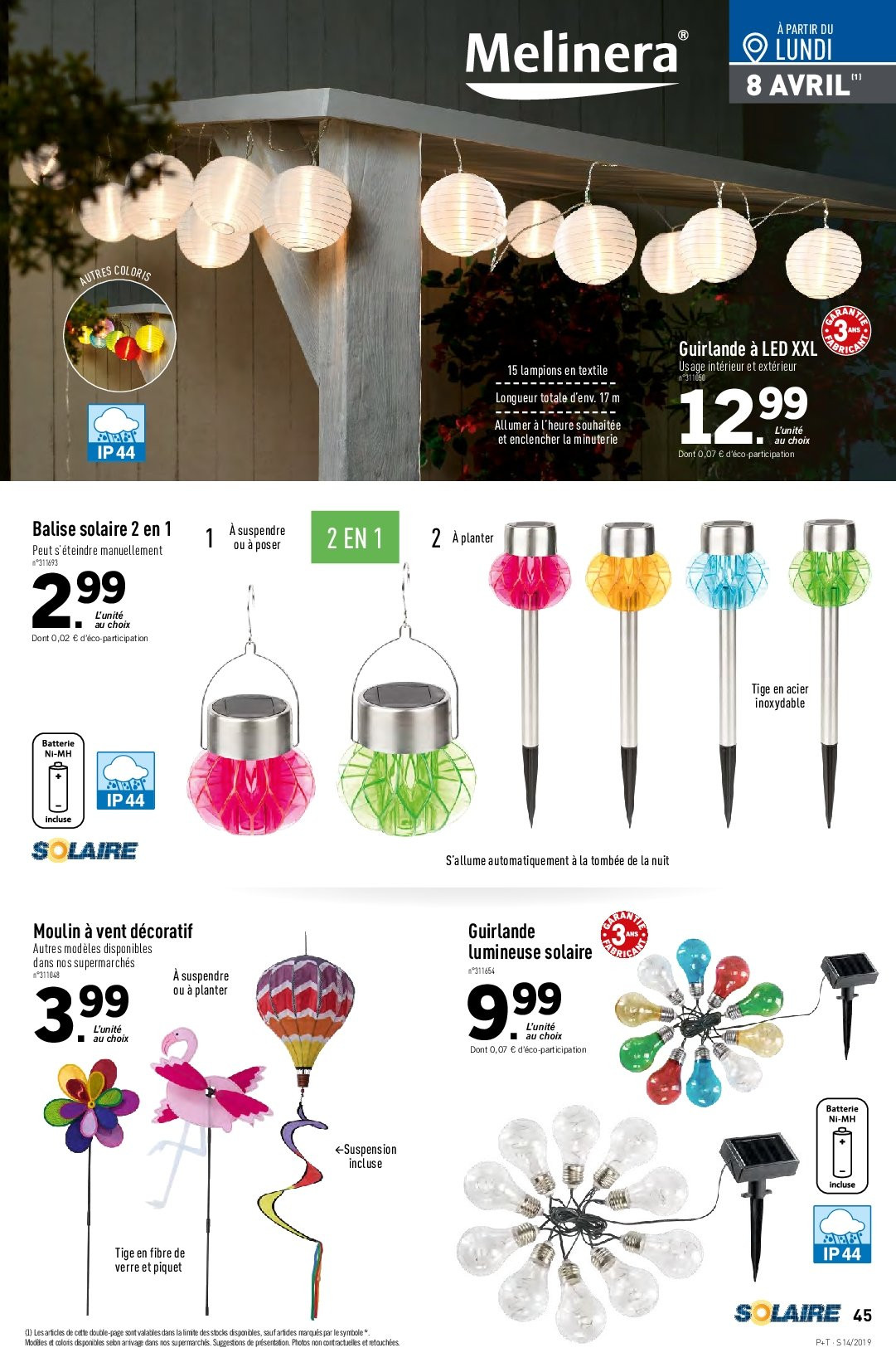 Catalogue Lidl - 03.04.2019 - 09.04.2019. Page 41.