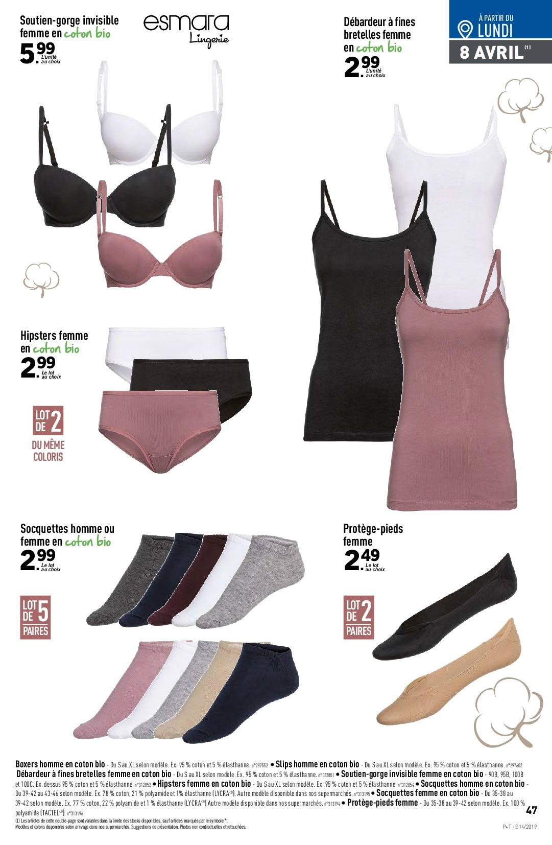 Catalogue Lidl - 03.04.2019 - 09.04.2019. Page 43.