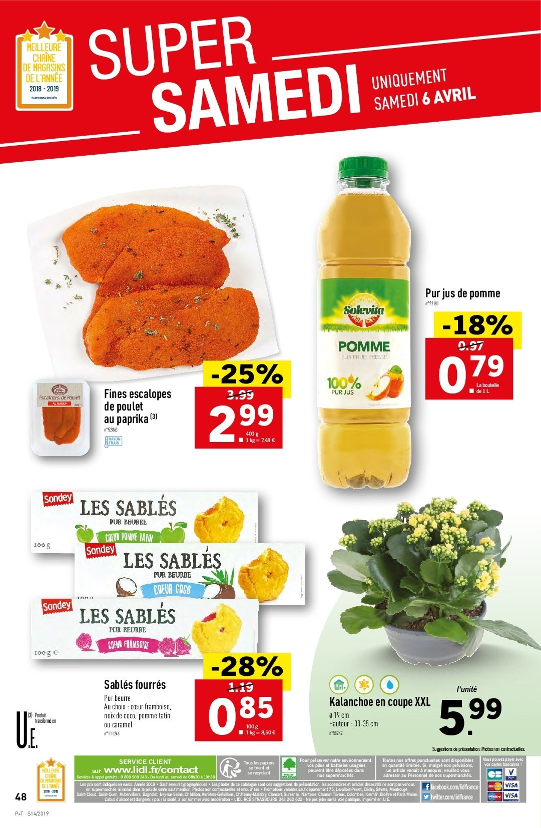 Catalogue Lidl - 03.04.2019 - 09.04.2019. Page 46.
