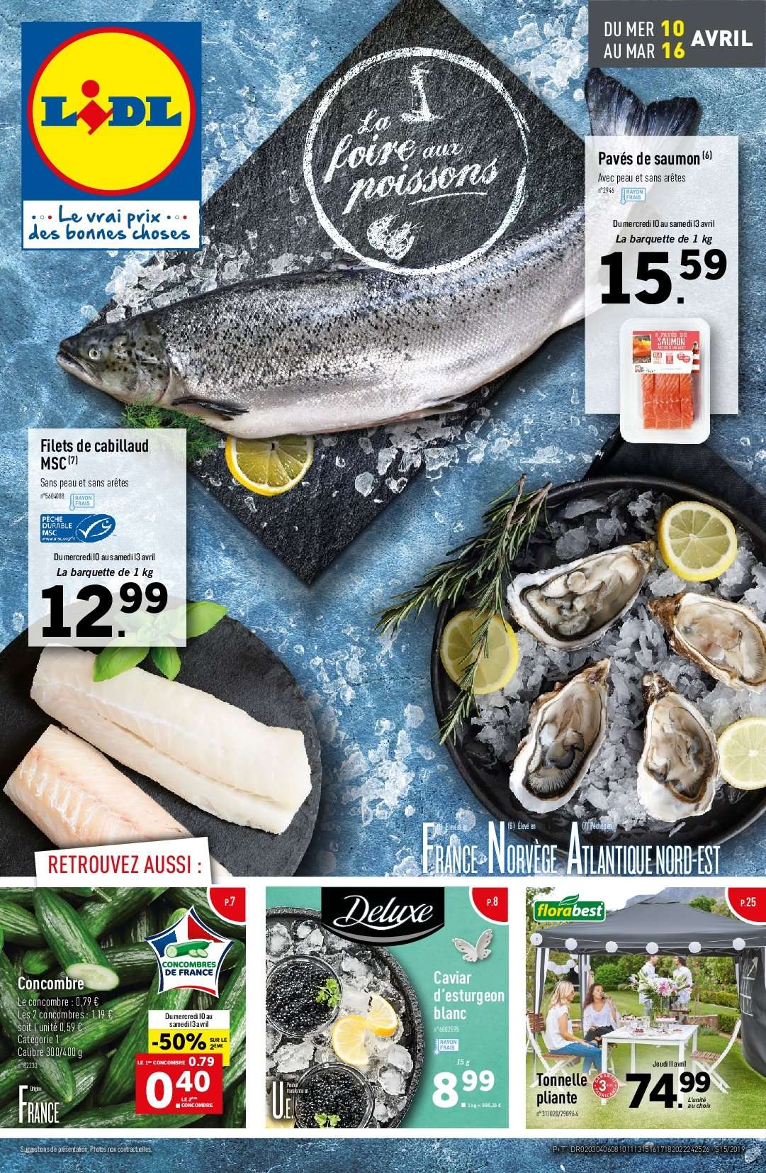 Catalogue Lidl - 10.04.2019 - 16.04.2019. Page 1.