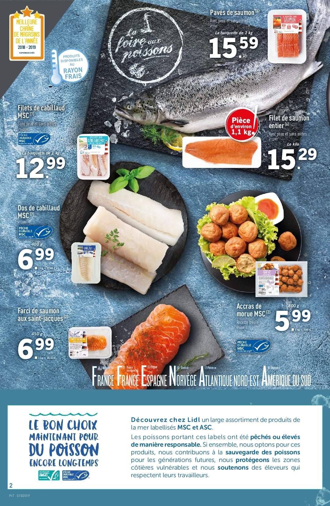 Catalogue Lidl - 10.04.2019 - 16.04.2019. Page 2.