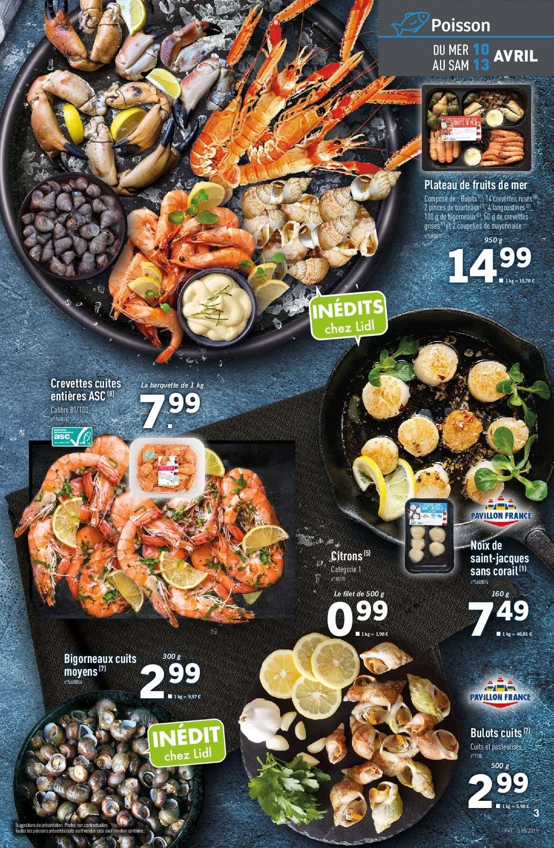 Catalogue Lidl - 10.04.2019 - 16.04.2019. Page 3.