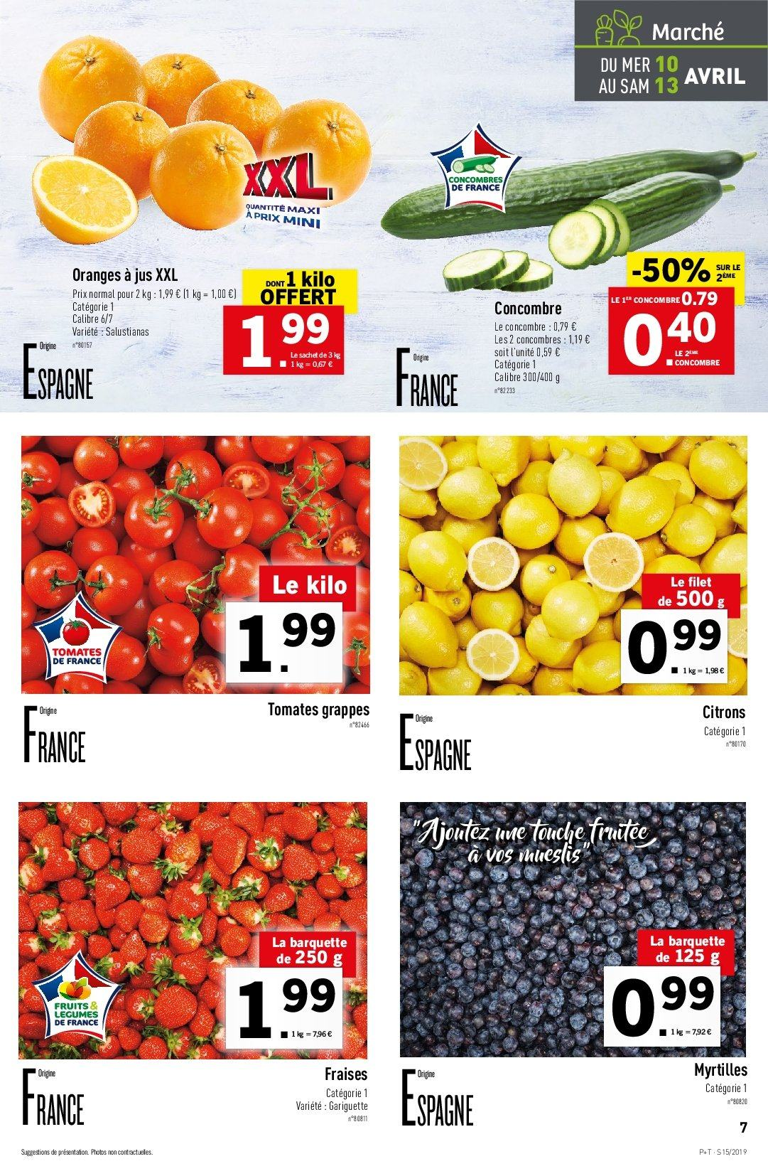 Catalogue Lidl - 10.04.2019 - 16.04.2019. Page 7.