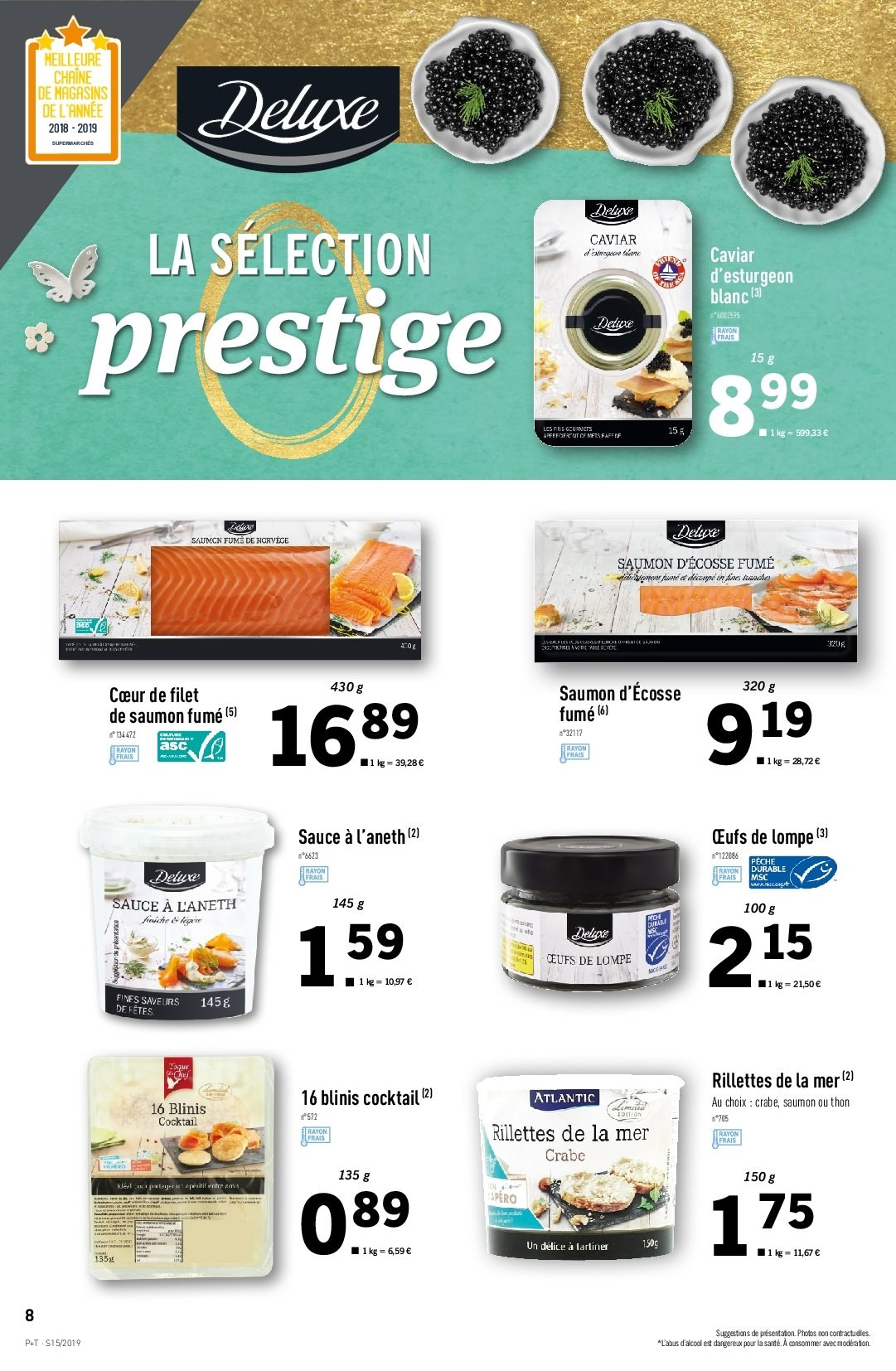 Catalogue Lidl - 10.04.2019 - 16.04.2019. Page 8.