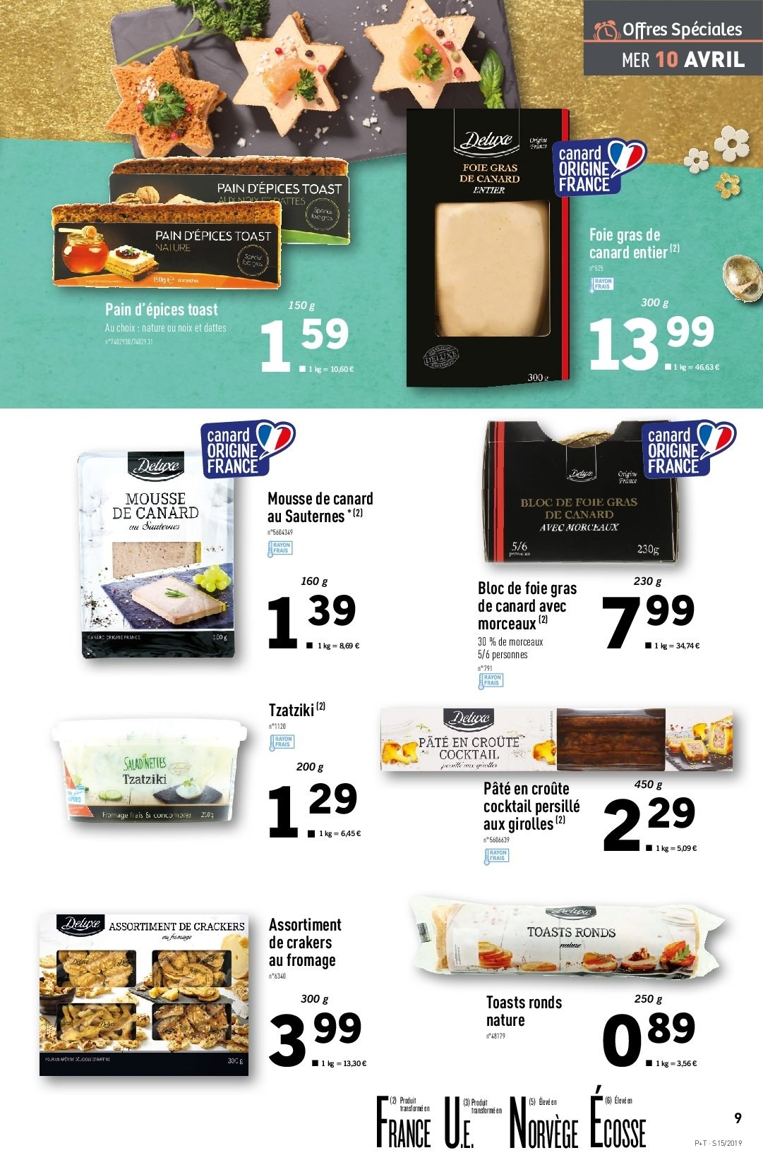 Catalogue Lidl - 10.04.2019 - 16.04.2019. Page 9.