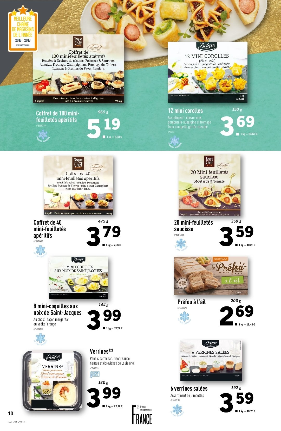 Catalogue Lidl - 10.04.2019 - 16.04.2019. Page 10.