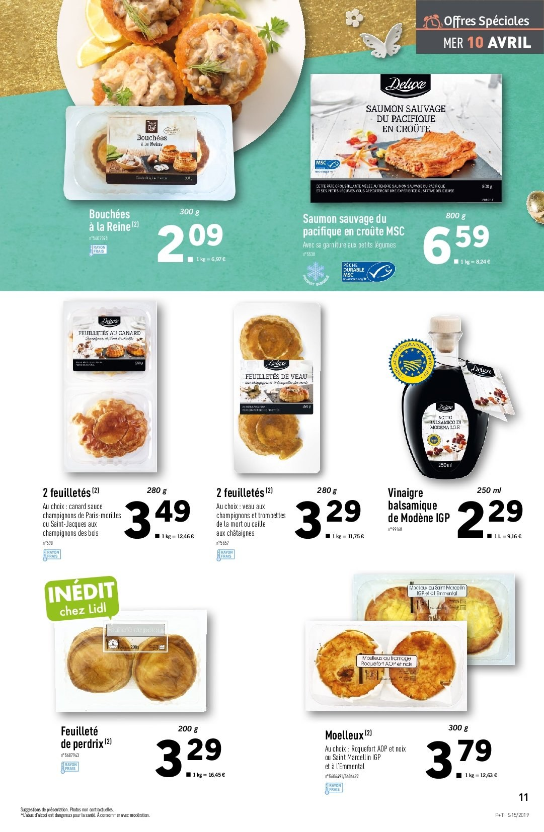 Catalogue Lidl - 10.04.2019 - 16.04.2019. Page 11.