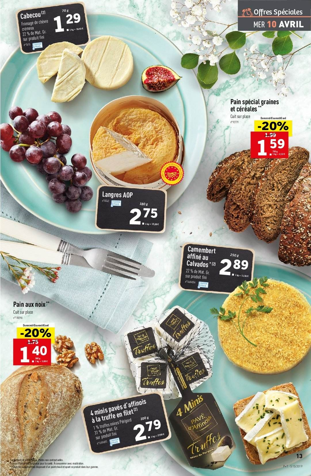Catalogue Lidl - 10.04.2019 - 16.04.2019. Page 13.
