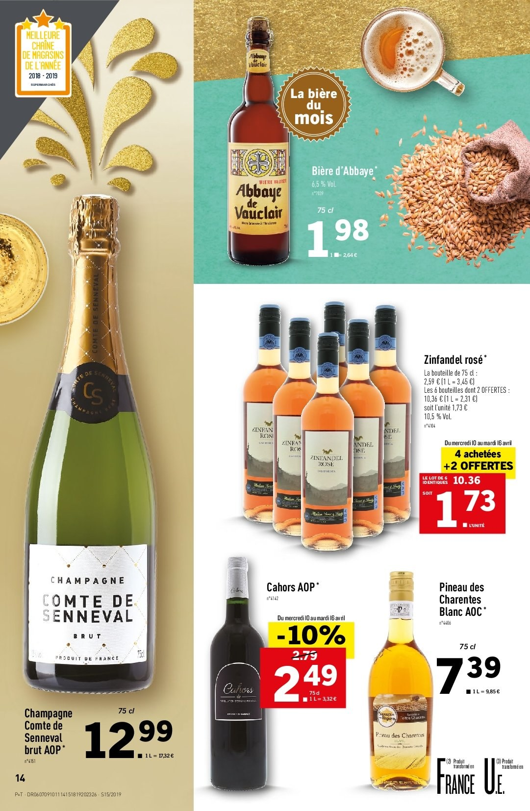 Catalogue Lidl - 10.04.2019 - 16.04.2019. Page 14.
