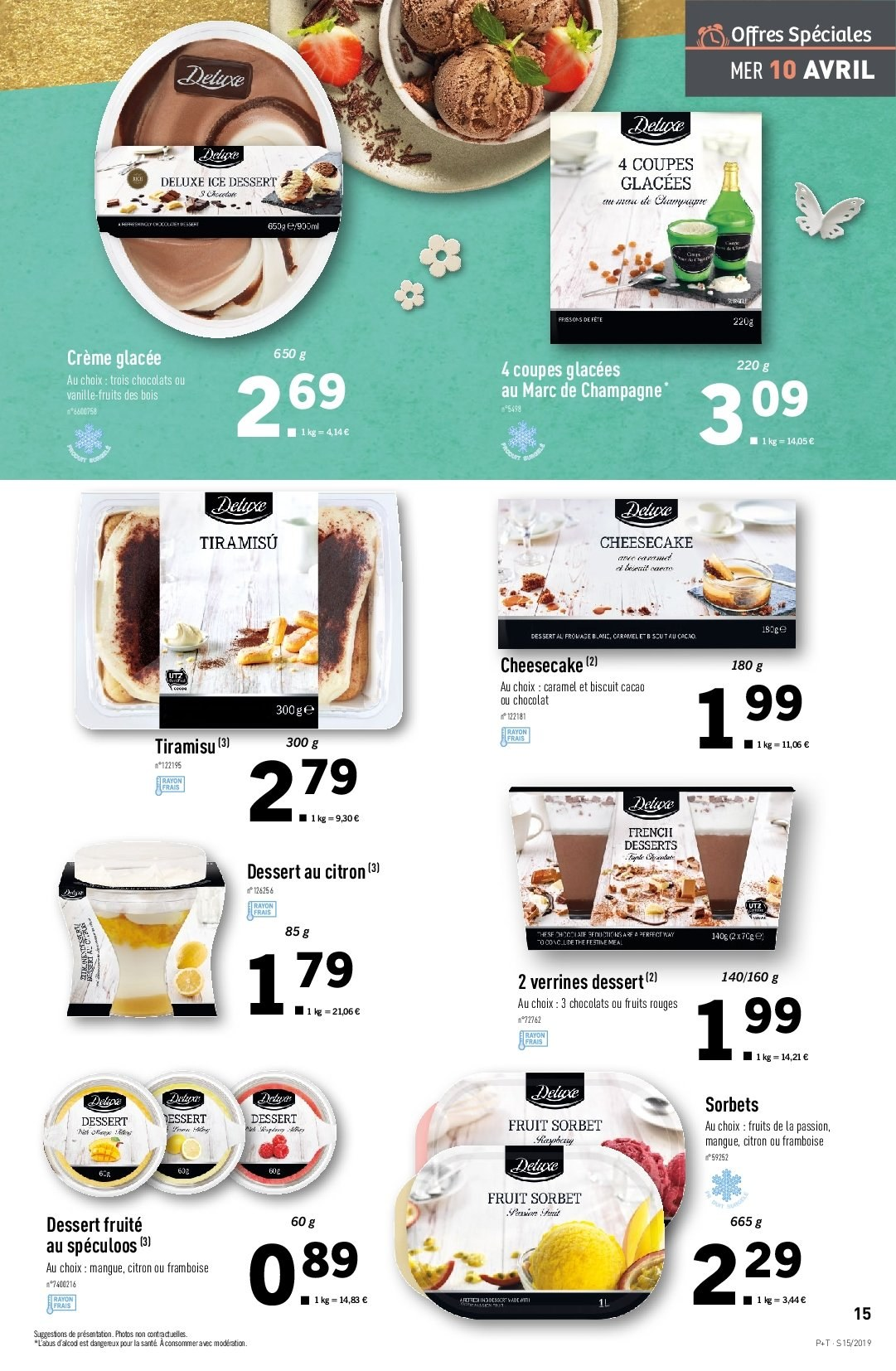 Catalogue Lidl - 10.04.2019 - 16.04.2019. Page 15.