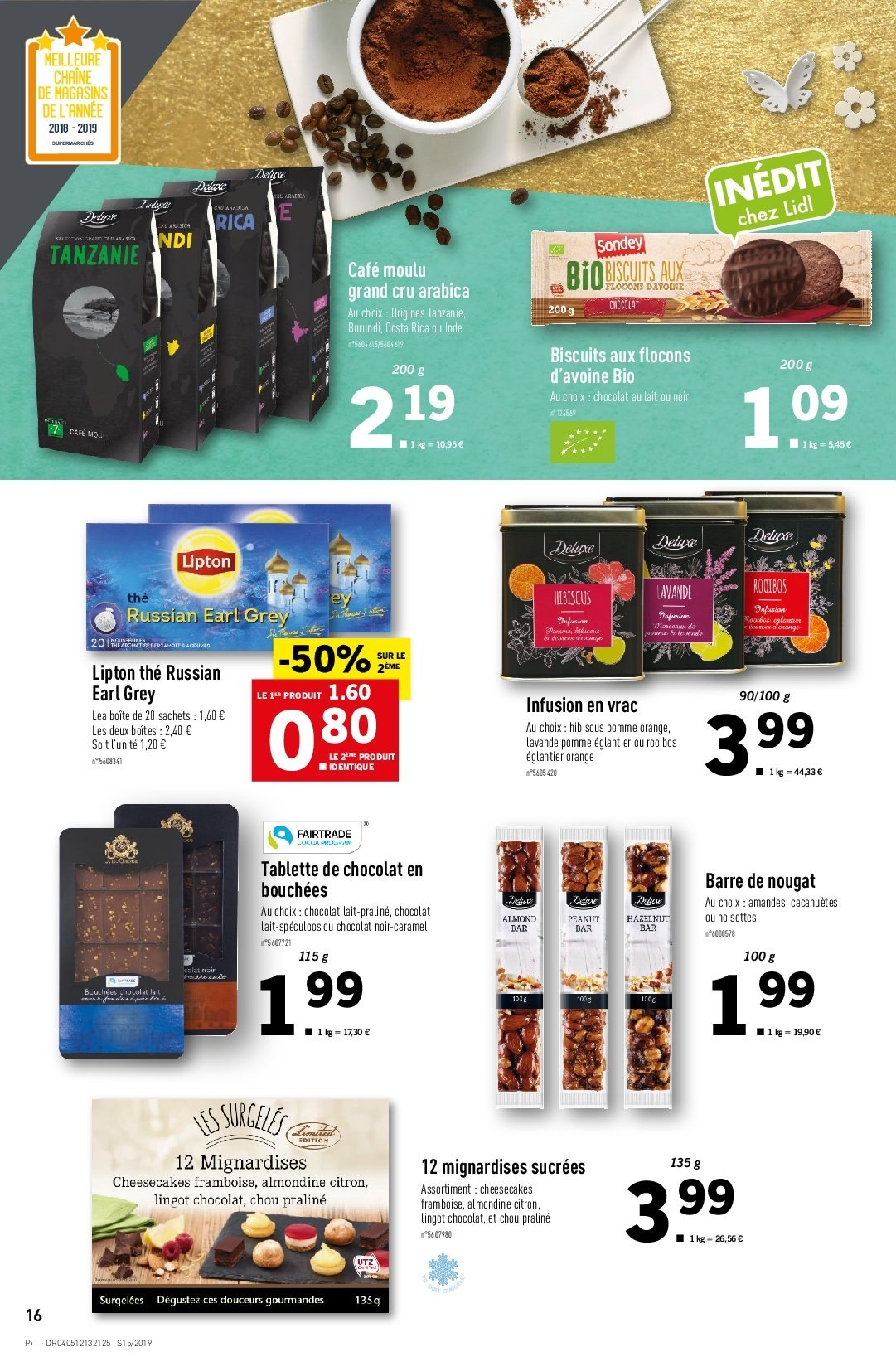 Catalogue Lidl - 10.04.2019 - 16.04.2019. Page 16.