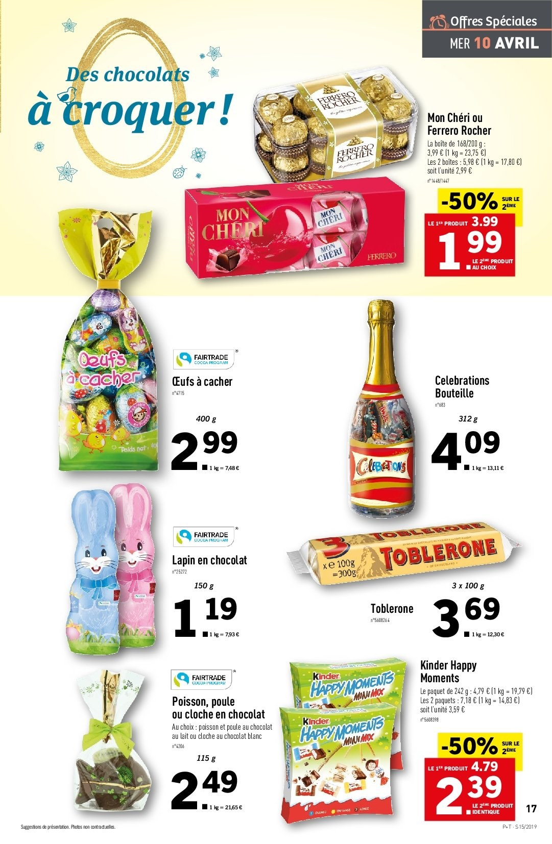 Catalogue Lidl - 10.04.2019 - 16.04.2019. Page 17.