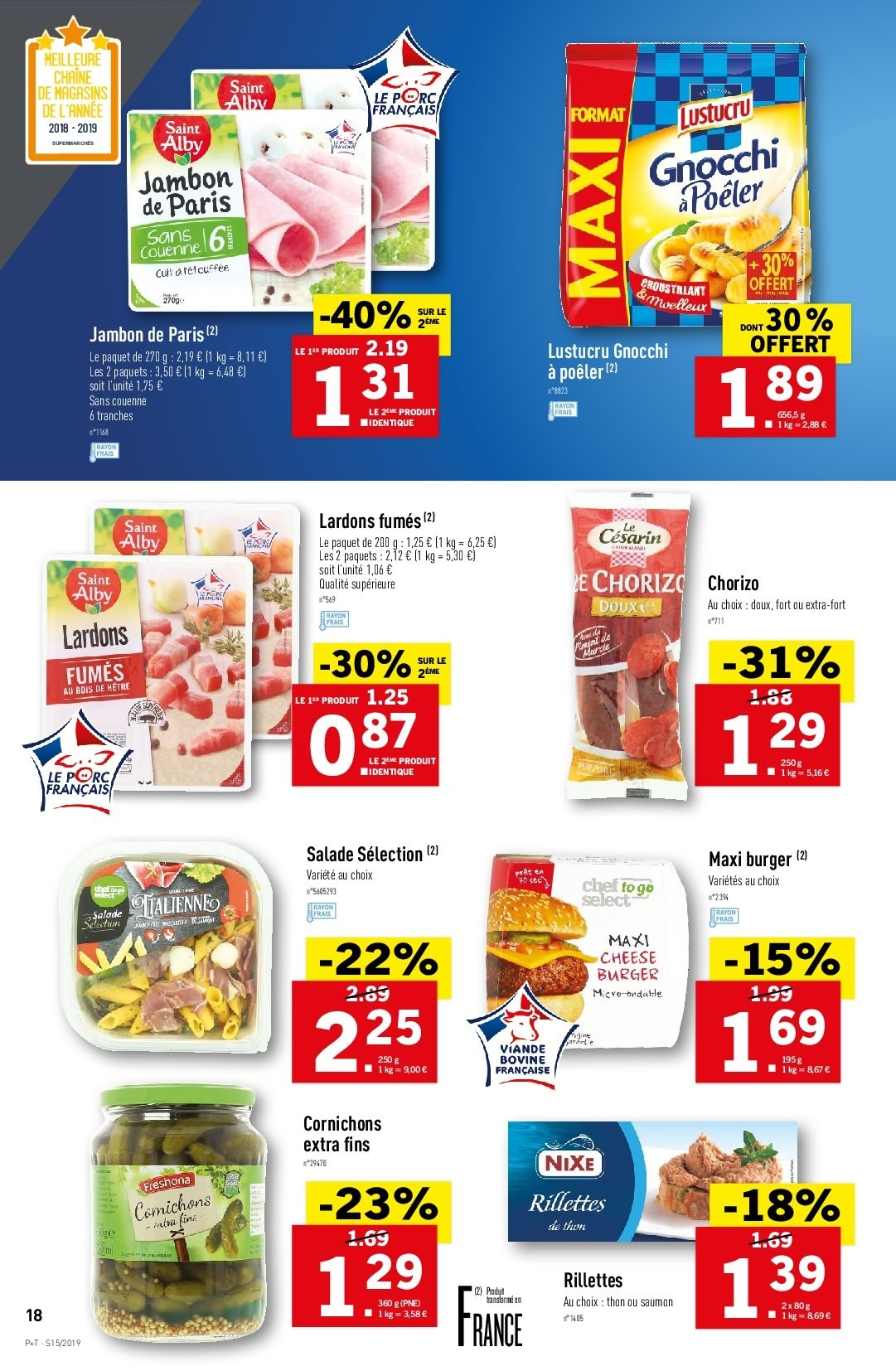 Catalogue Lidl - 10.04.2019 - 16.04.2019. Page 18.