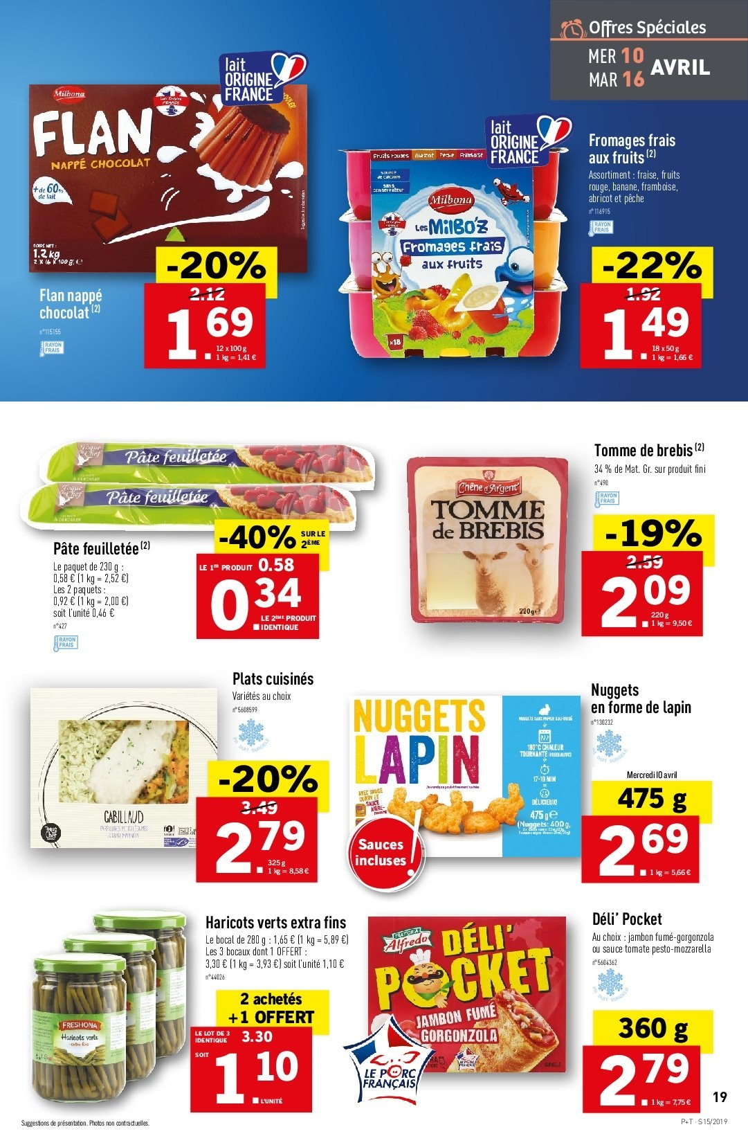 Catalogue Lidl - 10.04.2019 - 16.04.2019. Page 19.