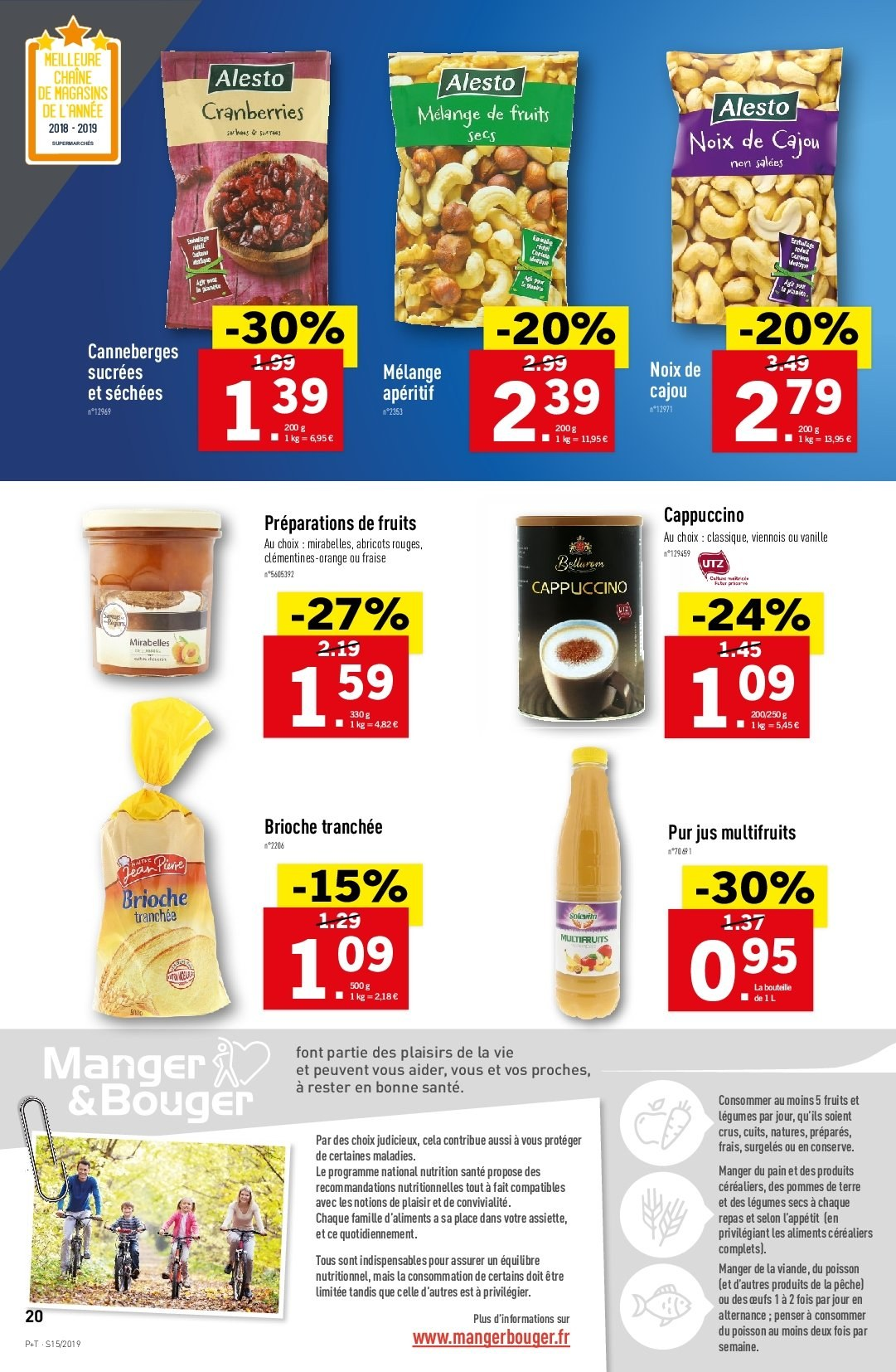 Catalogue Lidl - 10.04.2019 - 16.04.2019. Page 20.