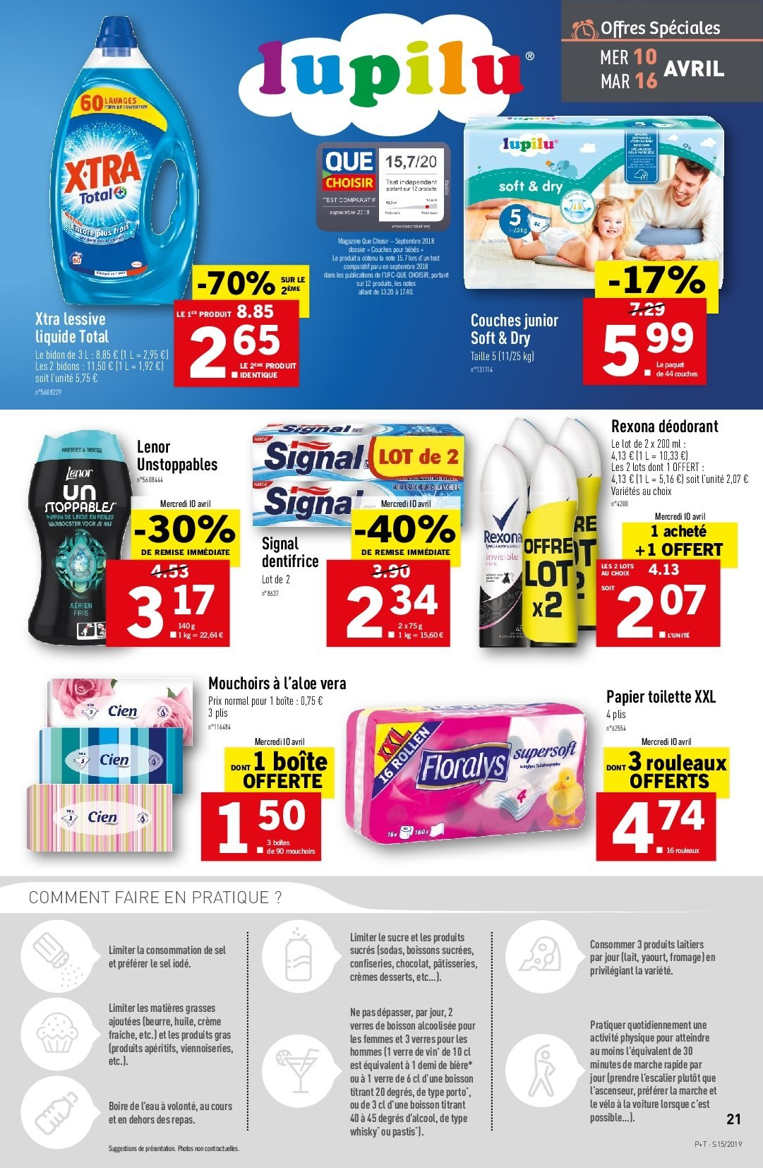 Catalogue Lidl - 10.04.2019 - 16.04.2019. Page 21.