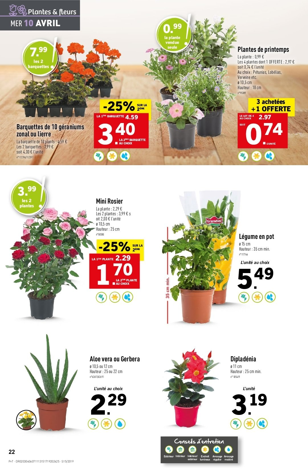 Catalogue Lidl - 10.04.2019 - 16.04.2019. Page 22.