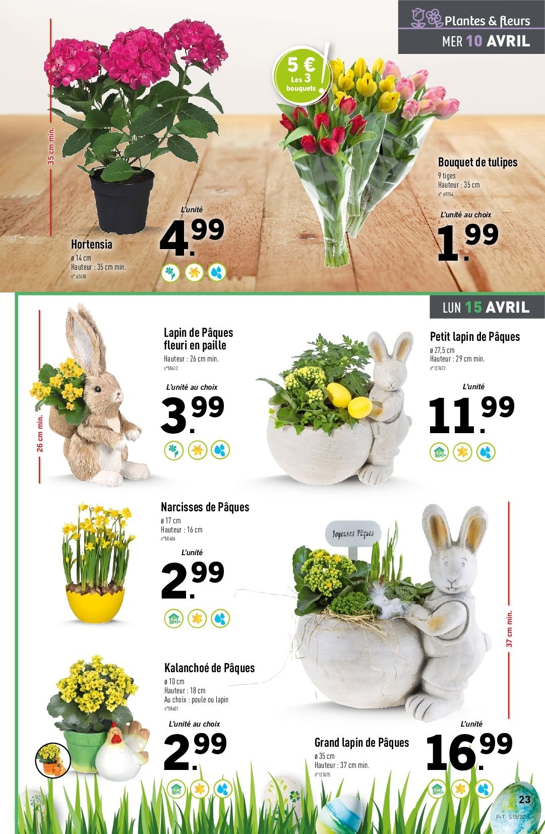 Catalogue Lidl - 10.04.2019 - 16.04.2019. Page 23.