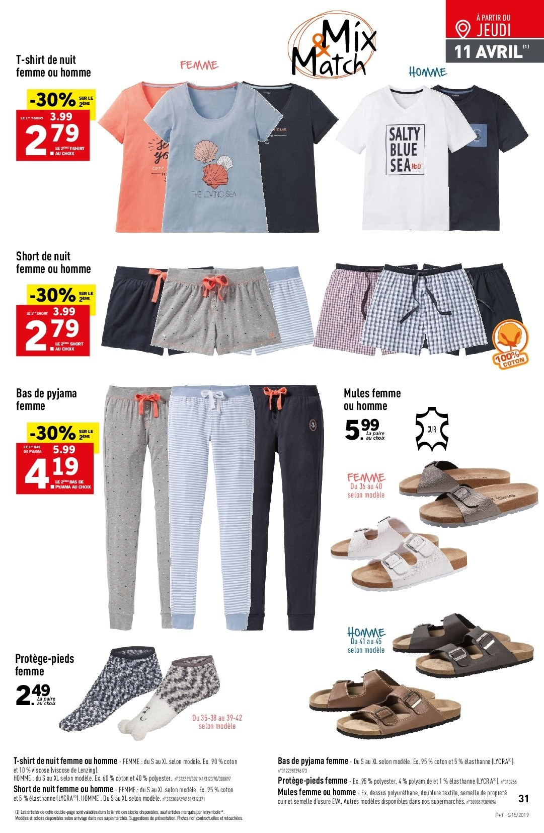 Catalogue Lidl - 10.04.2019 - 16.04.2019. Page 31.