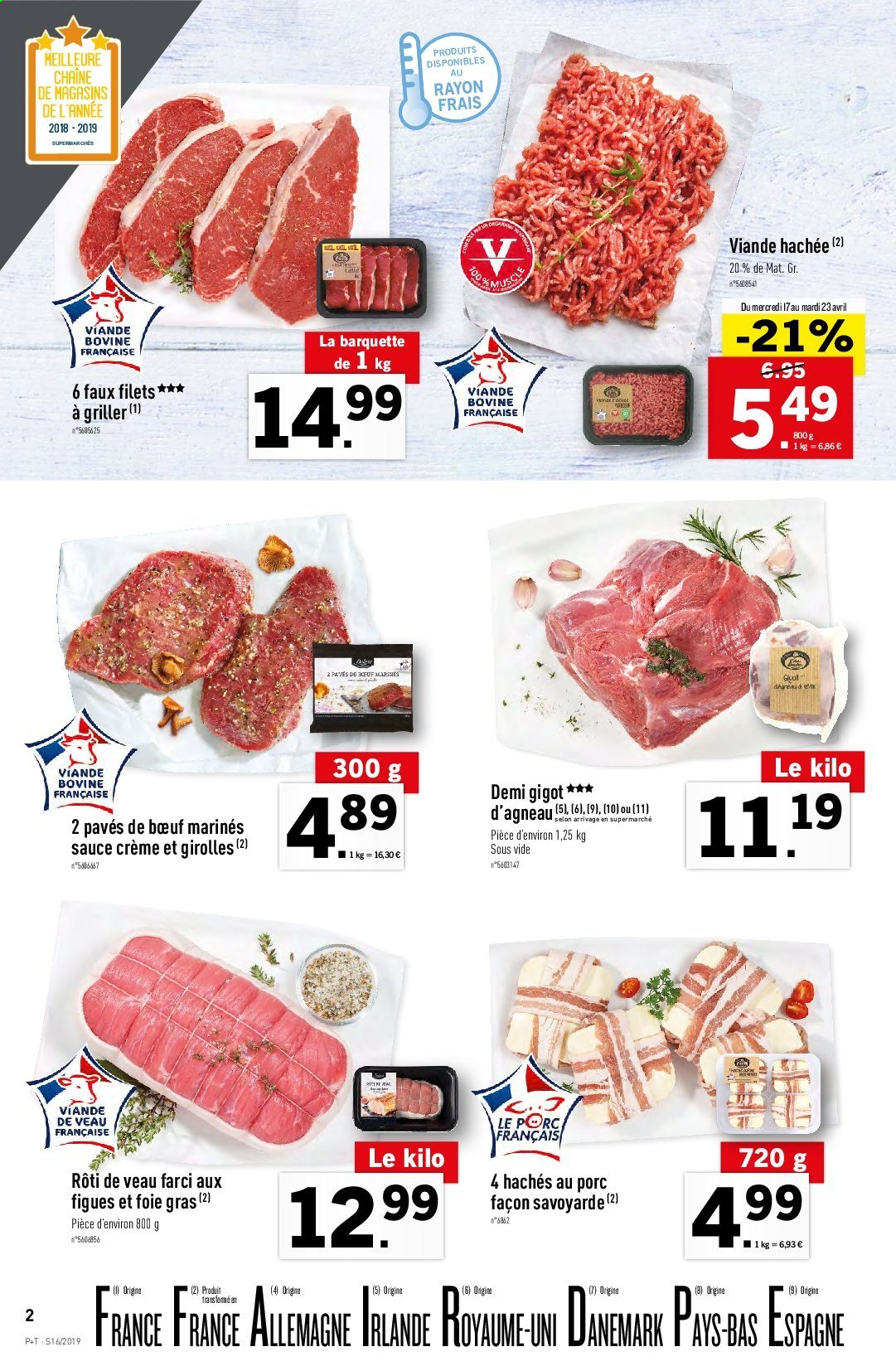 Catalogue Lidl - 17.04.2019 - 23.04.2019. Page 2.