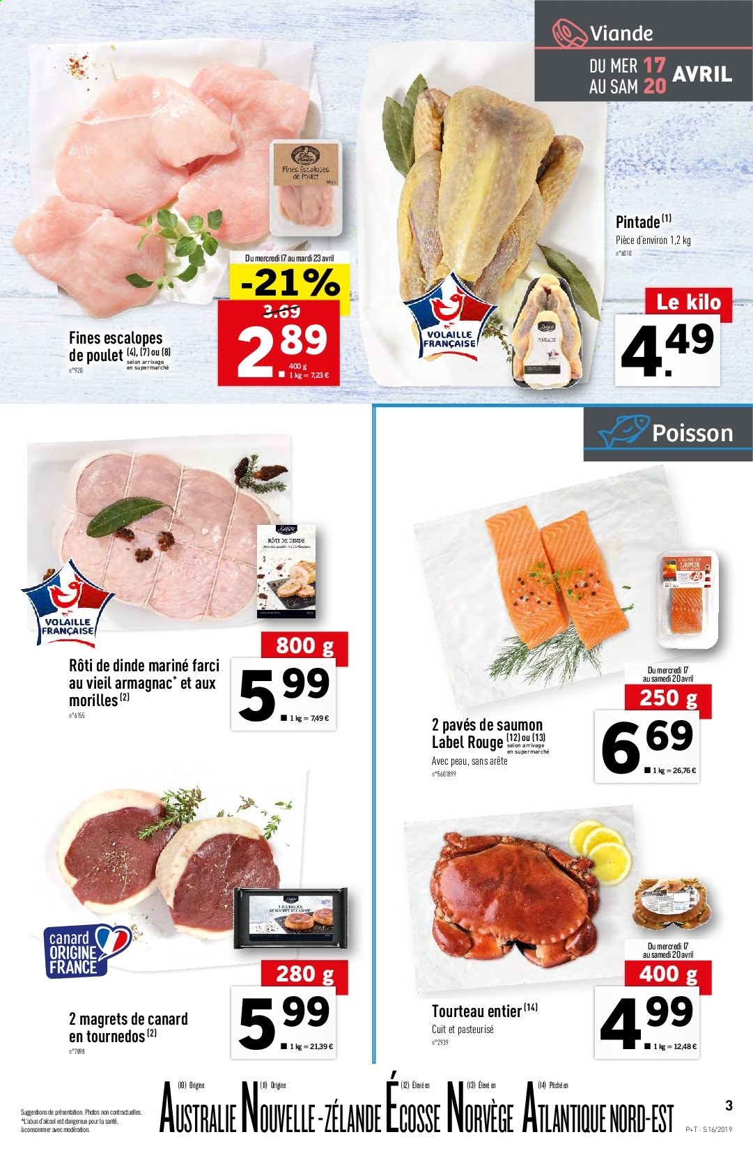 Catalogue Lidl - 17.04.2019 - 23.04.2019. Page 3.