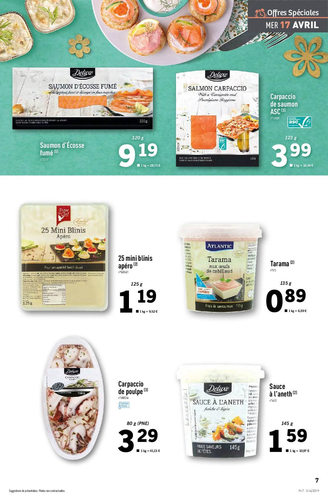 Catalogue Lidl - 17.04.2019 - 23.04.2019. Page 7.