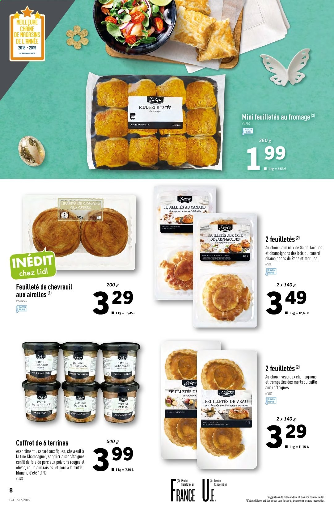 Catalogue Lidl - 17.04.2019 - 23.04.2019. Page 8.