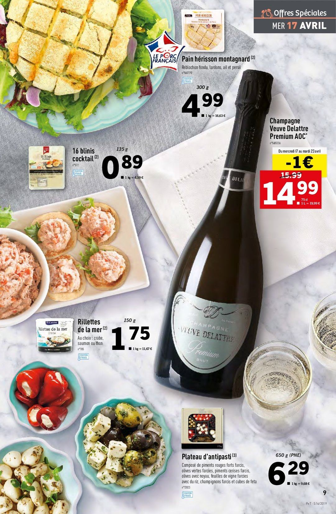 Catalogue Lidl - 17.04.2019 - 23.04.2019. Page 9.