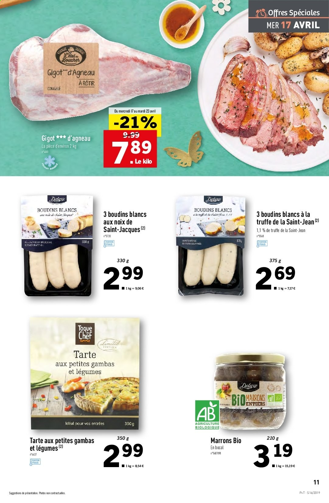 Catalogue Lidl - 17.04.2019 - 23.04.2019. Page 11.