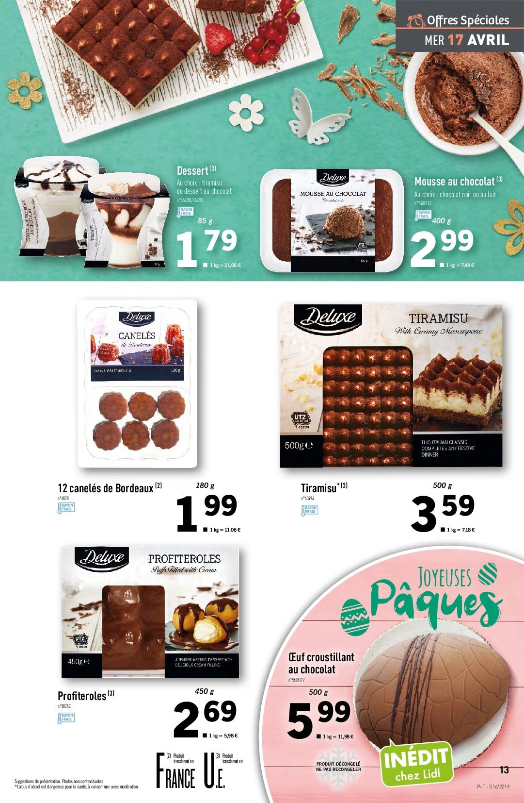 Catalogue Lidl - 17.04.2019 - 23.04.2019. Page 13.