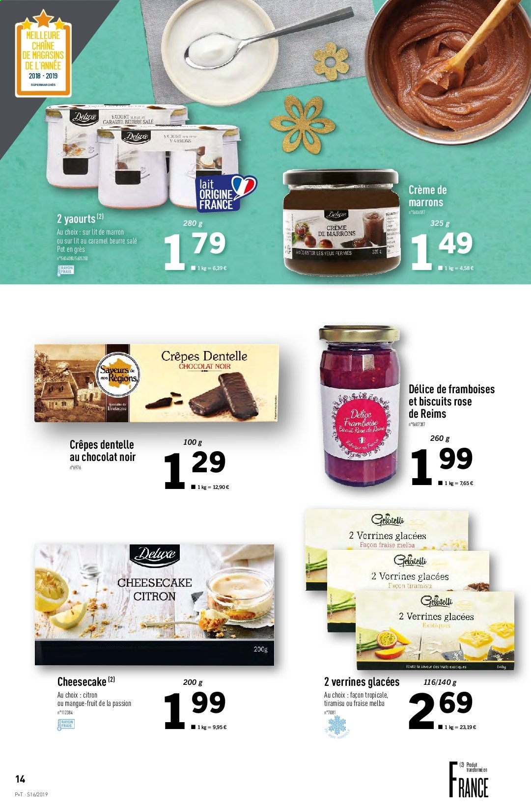 Catalogue Lidl - 17.04.2019 - 23.04.2019. Page 14.