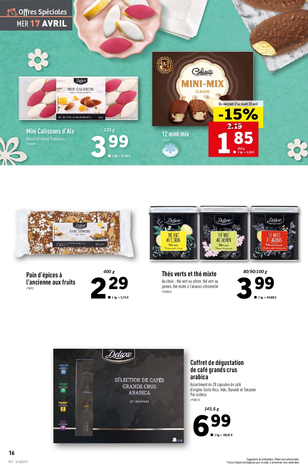 Catalogue Lidl - 17.04.2019 - 23.04.2019. Page 16.